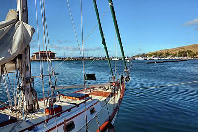 Photograph - Maalaea Harbor by Ben Prepelka