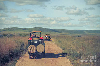 Photograph - Maasai Mara Safari by Claudia M Photography