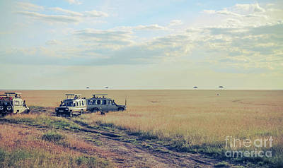 Photograph - Maasai Mara Safari Trip by Claudia M Photography