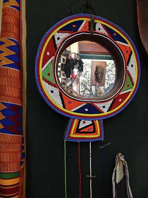 Exploramum Wall Art - Photograph - Maasai Mirror by Exploramum Exploramum