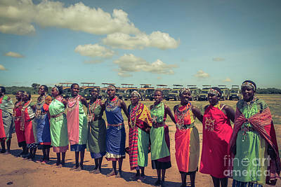 Photograph - Maasai Women by Cami Photo
