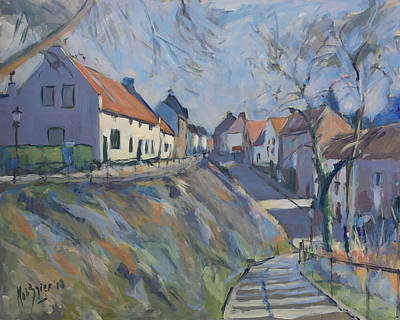 Painting - Maasberg Elsloo by Nop Briex