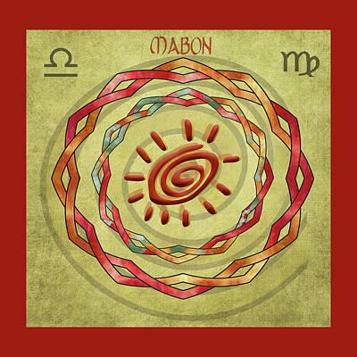 Digital Art - Mabon Autumn Equinox by Kandy Hurley