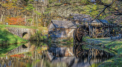 Photograph - Mabry Grist Mill by Jane Luxton