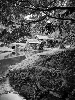 Photograph - Mabry Mill 1 by David Beebe