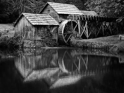 Photograph - Mabry Mill 2 by David Beebe