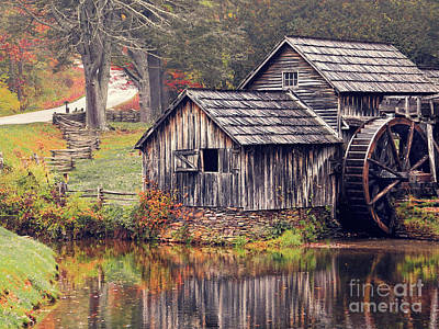 Photograph - Mabry Mill 2 by Dawn Gari