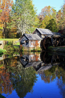 Photograph - Mabry Mill At Meadows Of Dan by Jill Lang