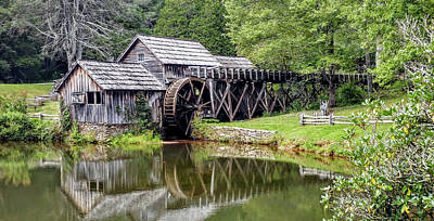 Historic Site Photograph - Mabry Mill by Bill Morgenstern