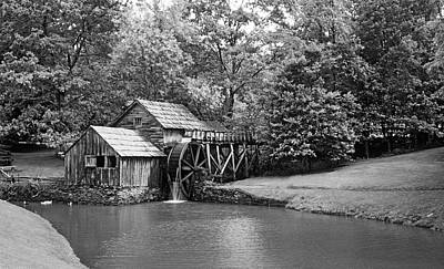 National Parks Photograph - Mabry Mill by Buddy Mays