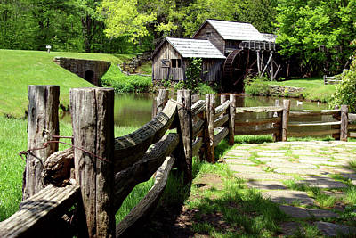 Kim Fearheiley Photography - Mabry Mill by Cherie Taylor
