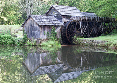 Photograph - Mabry Mill by David Cutts