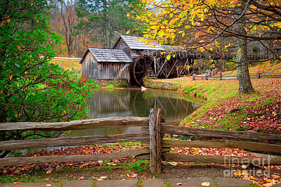 Photograph - Mabry Mill by Emmanuel Panagiotakis