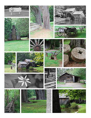 Art Print featuring the photograph Mabry Mill by Eric Liller