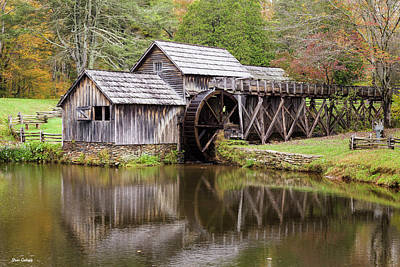 Photograph - Mabry Mill by Fran Gallogly
