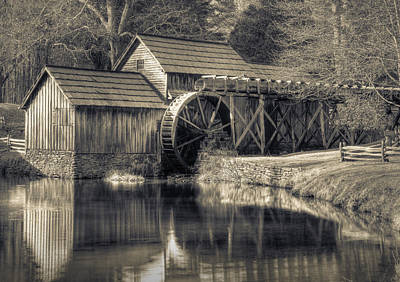 Mabry Mill Art Print by Harry H Hicklin