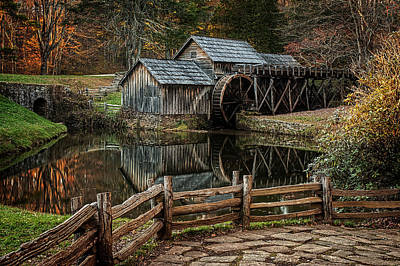 Photograph - Mabry Mill by Ken Smith