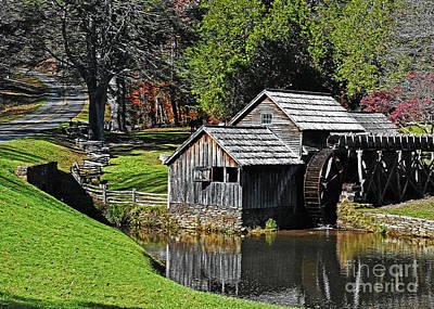 Photograph - Mabry Mill by Lydia Holly