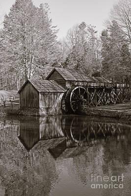 Photograph - Mabry Mill - Meadows Of Dan Virginia - Blue Ridge Parkway by Kerri Farley