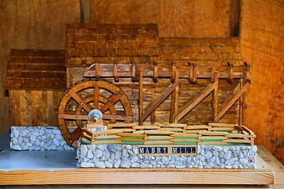Photograph - Mabry Mill Model by Kathryn Meyer