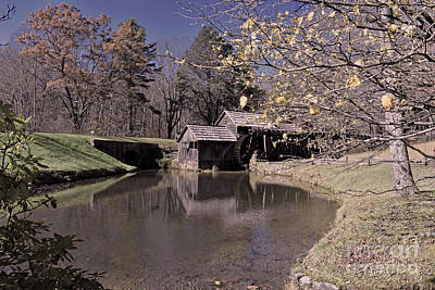 Photograph - Mabry Mill No.4 by Lydia Holly