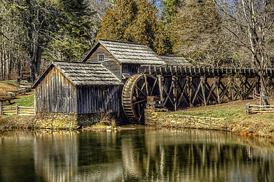 Photograph - Mabry Mill by Pete Federico