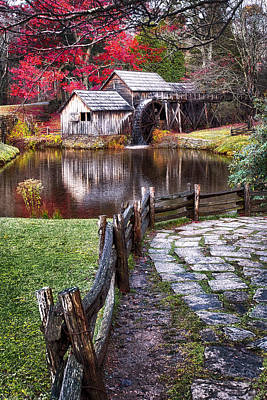Photograph - Mabry Mill by Renee Sullivan