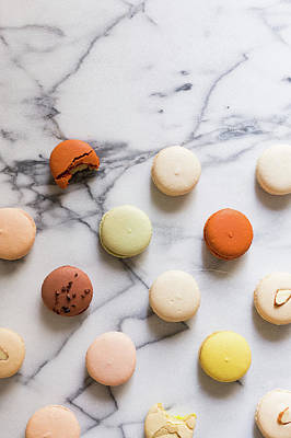 Macaron Pattern Art Print by Happy Home Artistry