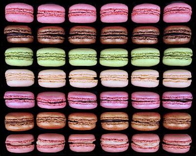 Photograph - Macarons - Full Box by Nikolyn McDonald