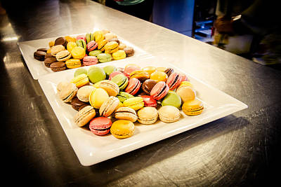 Photograph - Macaroons by Jason Smith