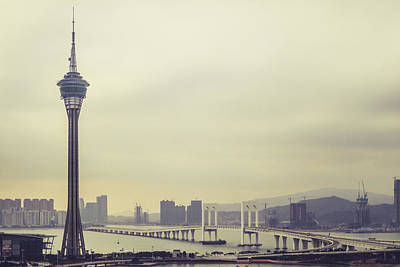Photograph - Macau Tower by Hyuntae Kim