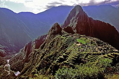 Photograph - Macchu Picchu by Alan Lenk
