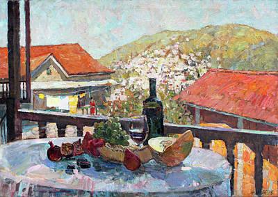 Painting - Macedonian Still Life by Juliya Zhukova