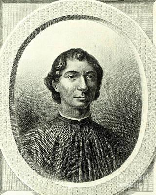 Machiavelli  Art Print by Italian School