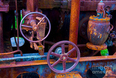 Photograph - Rusty Machine by Yulia Kazansky