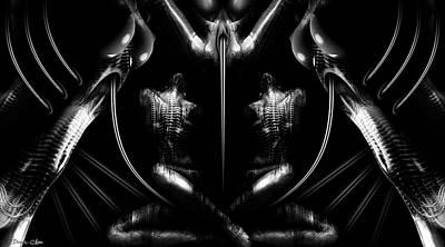 H.r. Giger Digital Art - Machinarium by Pharaoh Laboa