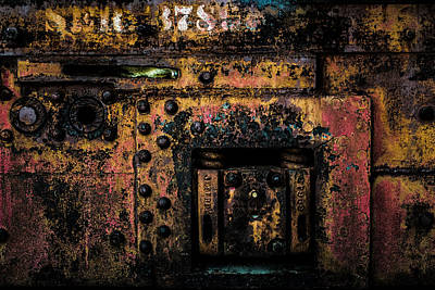 Photograph - Machine Details by Kristy Creighton