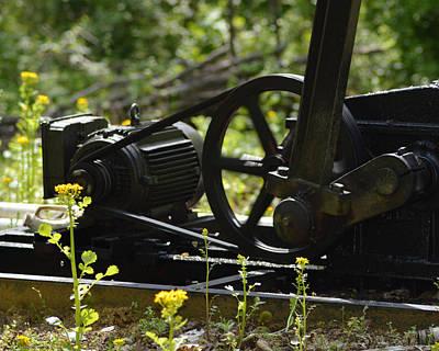 Oil Pumper Photograph - Machine In Motion by Belinda Stucki