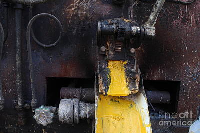 Photograph - Yellow Machine by Jason Rosette