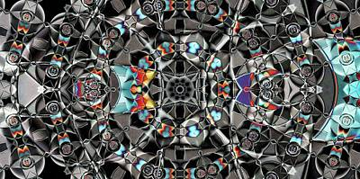 Digital Art - Machined 2 by Ron Bissett