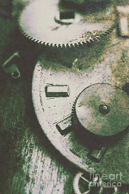 Machinery From The Industrial Age Print by Jorgo Photography - Wall Art Gallery