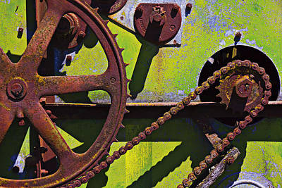 Machinery Gears  Art Print