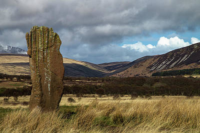 Archaelogy Photograph - Machriemoor Stones by Russell Millner