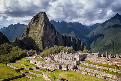 Photograph - Machu Picchu by Alice Cahill