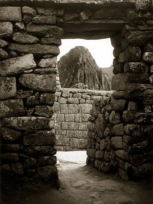 Machu Picchu Art Print