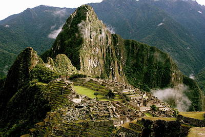Photograph - Machu Picchu At Sunrise by Brandy Little