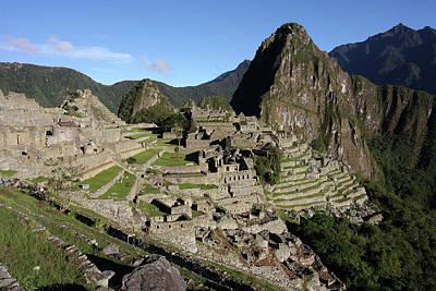 Photograph - Machu Picchu Citadel, Peru by Aidan Moran