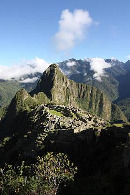 Photograph - Machu Picchu Citadel, Peru, South America by Aidan Moran