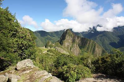 Photograph - Machu Picchu From The Inca Trail by Aidan Moran