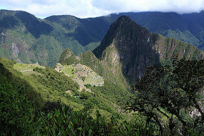 Photograph - Machu Picchu From The Inca Trail, Peru by Aidan Moran
